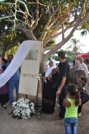 """Inauguration of the plaque """"We will not forget"""" in Tyre Lebanon"""